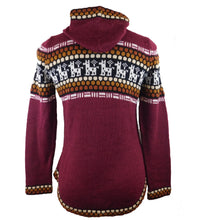 Load image into Gallery viewer, Alpaca Wool Sweater Cardigan #3445
