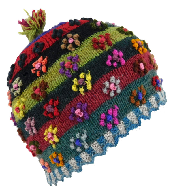 Handmade Flower Hat  Small Size