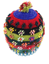 Load image into Gallery viewer, Alpaca Handmade Flower Hat  Small Size #F004