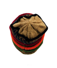 Load image into Gallery viewer, Beanie Multi Color Alpaca Hat # E0047