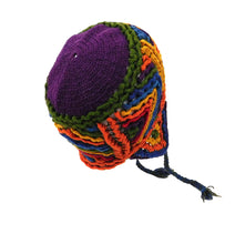 Load image into Gallery viewer, Naturally Dyed Handmade Beanie #03341