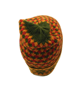 Beanie Alpaca Multi Color Hat #01788