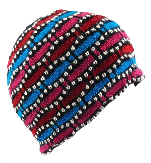 Alpaca Beanie Multi Color
