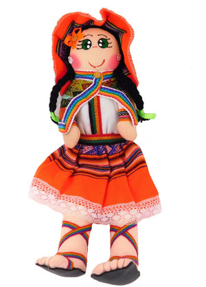 Andina Doll Orange Color