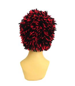 Beanie Black - Red Hat