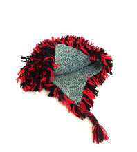 Load image into Gallery viewer, Beanie Black - Red Hat