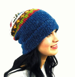 Wool Multi - Color Beanie