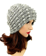 Acrylic Beanie Gray Color