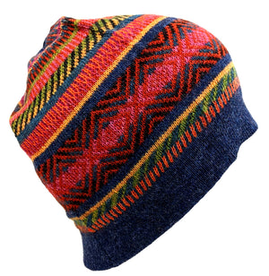 Alpaca Beanie Multi- Color