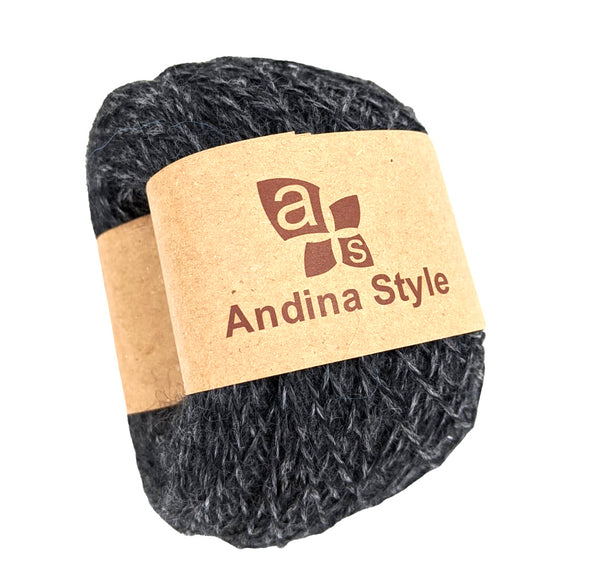 Alpaca Yarn Gray  Color