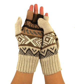 Alpaca  Gloves Beige