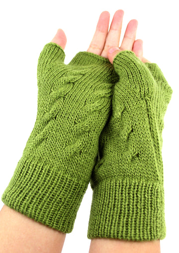 Alpaca Short Gloves One Size