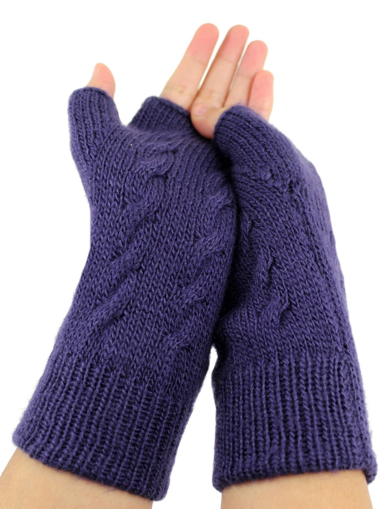 Alpaca  Gloves Blue Color  #A00714