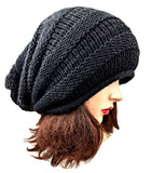 Alpaca Beanie Slouch Black Color One Size