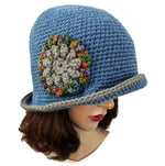 Handmade Flapper Flower Hat