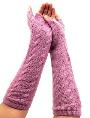 Finger - Less Alpaca Women's Gloves
