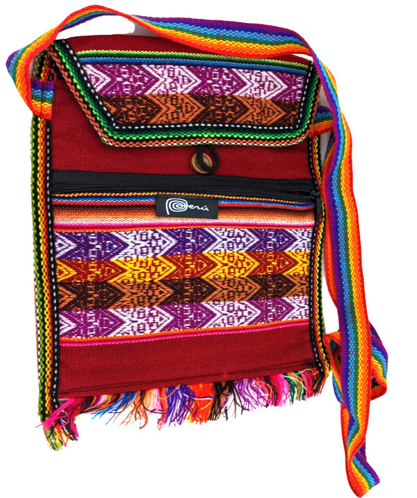 Handmade Shoulder Inca Bag