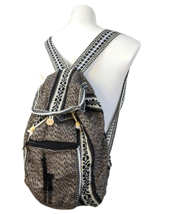 Back Pack Tuscan Color Handmade