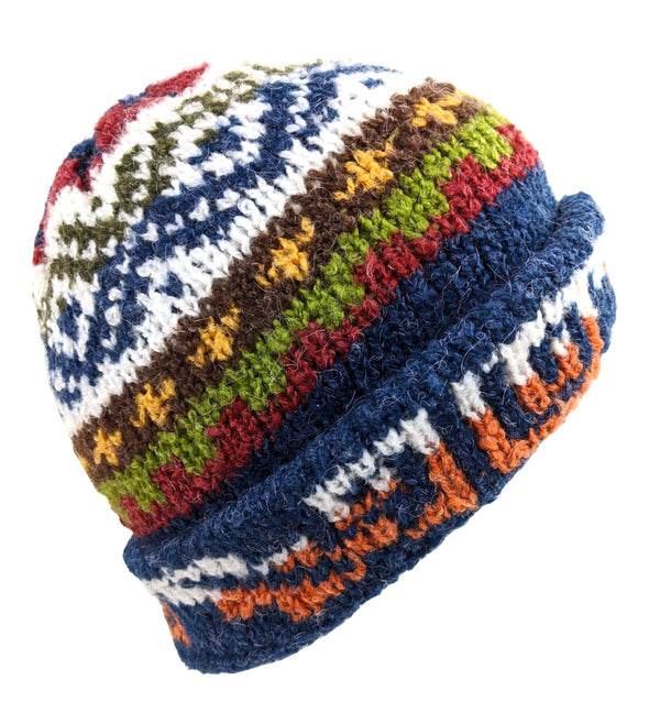 Wool Beanie Multi-Color