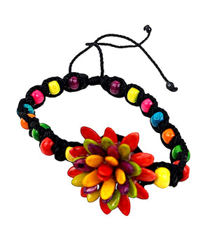 Handmade Flower Bracelet Adjustable