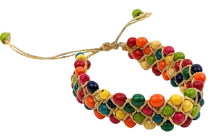 Bracelet Multi Color - Handmade