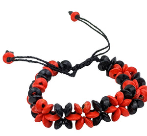 Handmade Bracelet Red Color