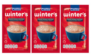 100% Pura Cocoa Winter's 3 Pack