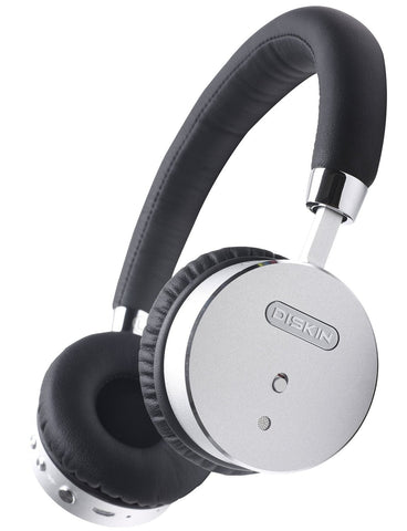 Silver & Black Headphones