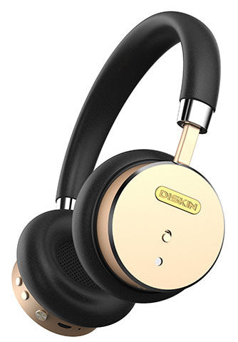 Black & Gold Headphones