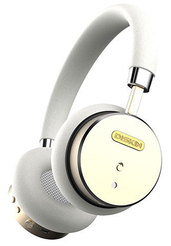 White & Gold Headphones