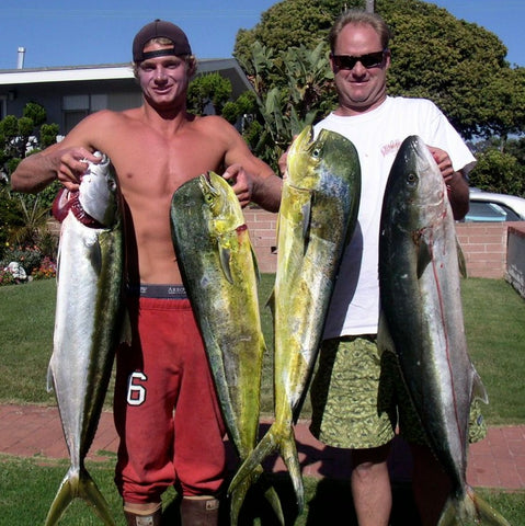 dorado and yellowtail