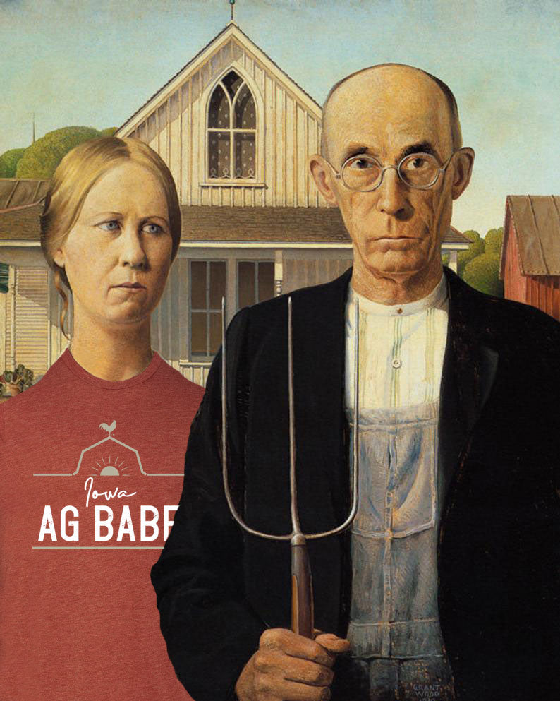 Celebrating Ag Women: Iowa - Grant Wood's American Gothic House