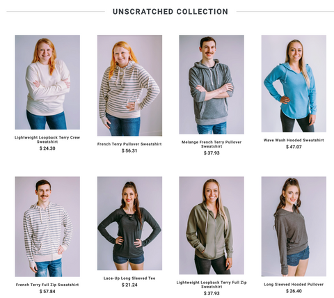 Unscratched Collection Click to Shop