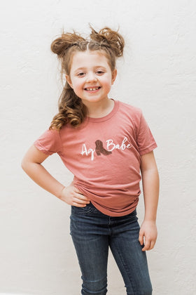 Ag Babe Toddler Tee
