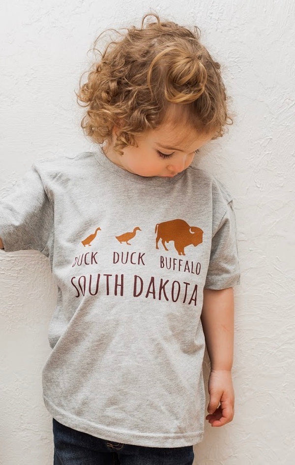 DUCK DUCK BUFFALO South Dakota-Toddler/Youth Tees