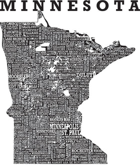 Hometown Minnesota - Sueded Short Sleeve