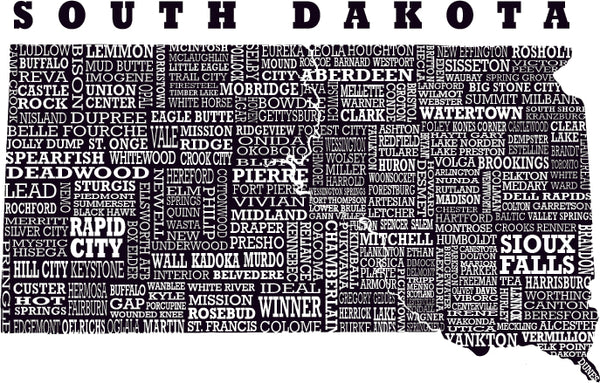 The graphic for Hometown South Dakota
