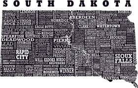 Hometown South Dakota Tank