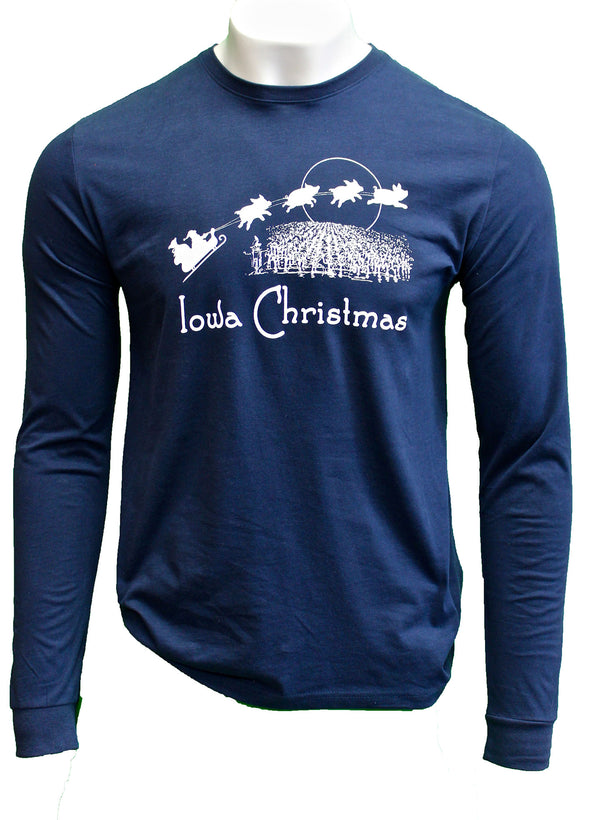 Iowa Christmas - Long Sleeve