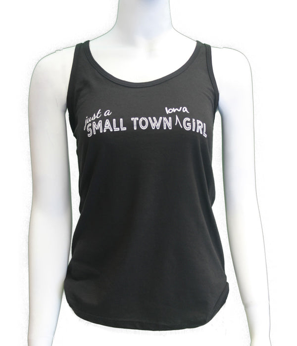Just a Small Town Iowa Girl - Tank - Scratchpad Tees