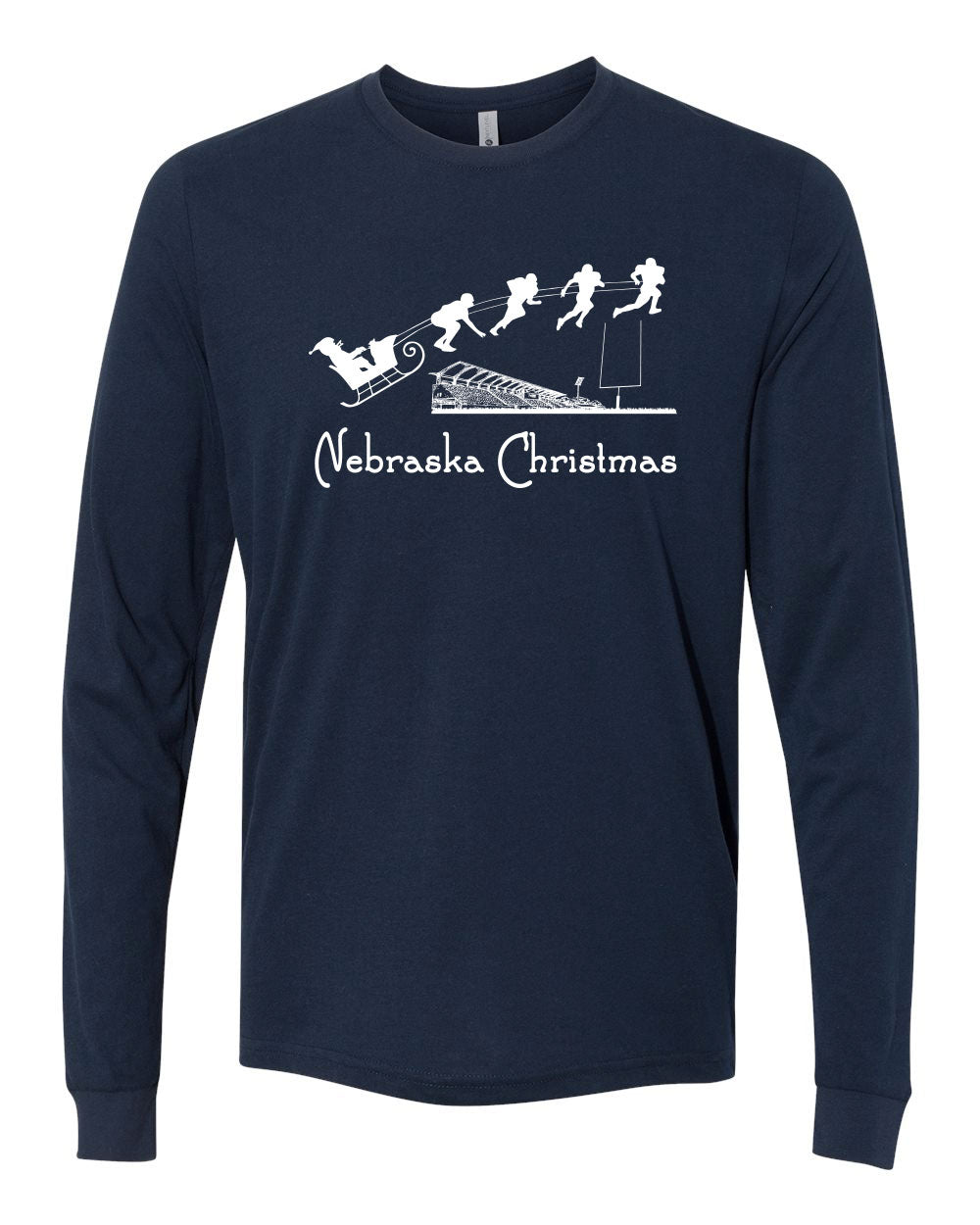 Nebraska Christmas - Long Sleeve