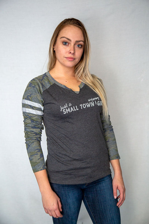 Just a Small Town Wyoming Girl - Long Sleeved Tee