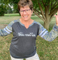 Just a Small Town Iowa Girl - Long Sleeved Tee