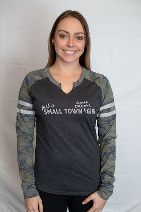 Just a Small Town South Dakota Girl - Long Sleeved Tee