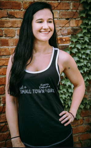 Just a Small Town South Dakota Girl - Tank