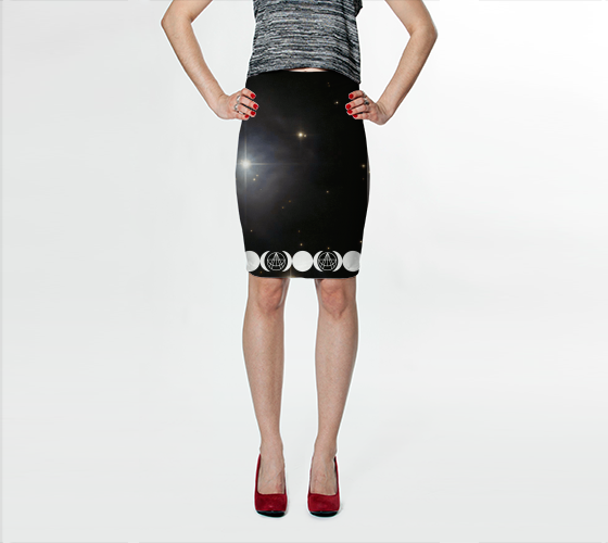 Triple Moon Logo Skirt