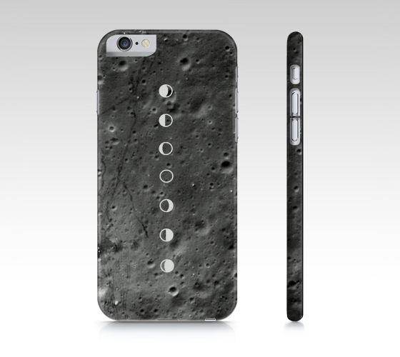 Cratered Moon Phase iPhone 6 Case