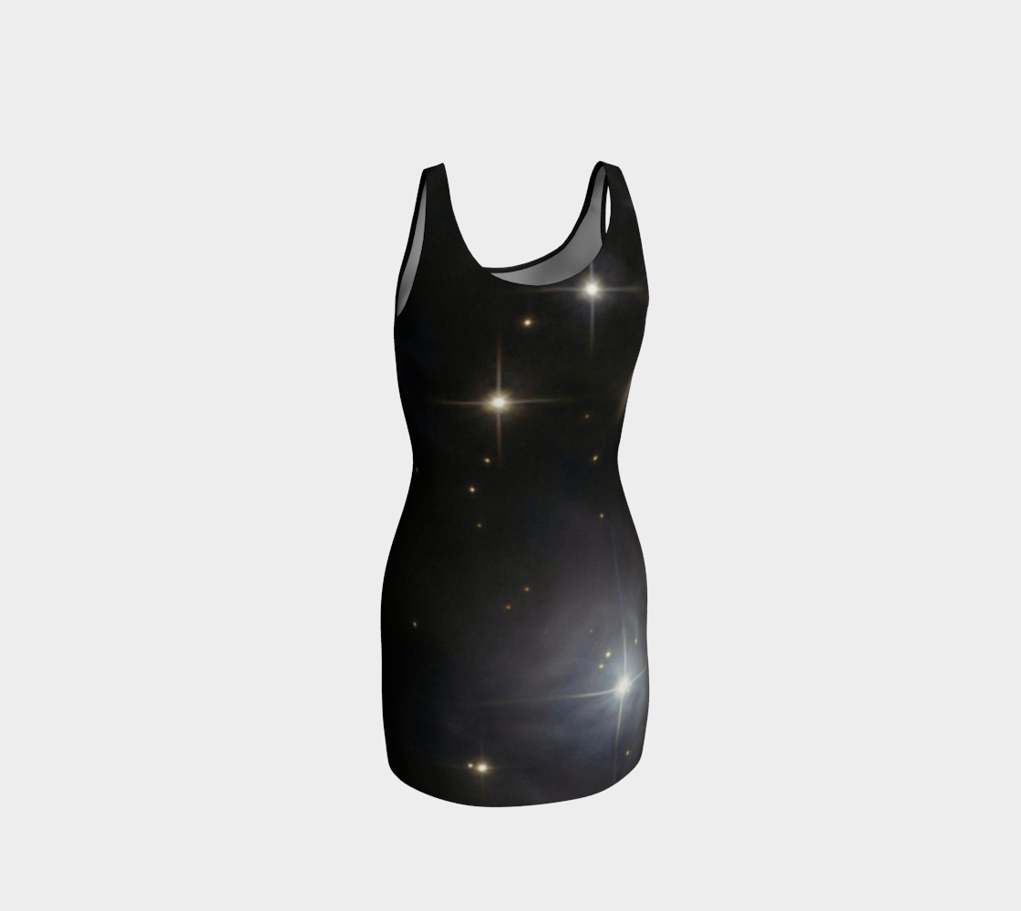 Moon Phase Bodycon Dress