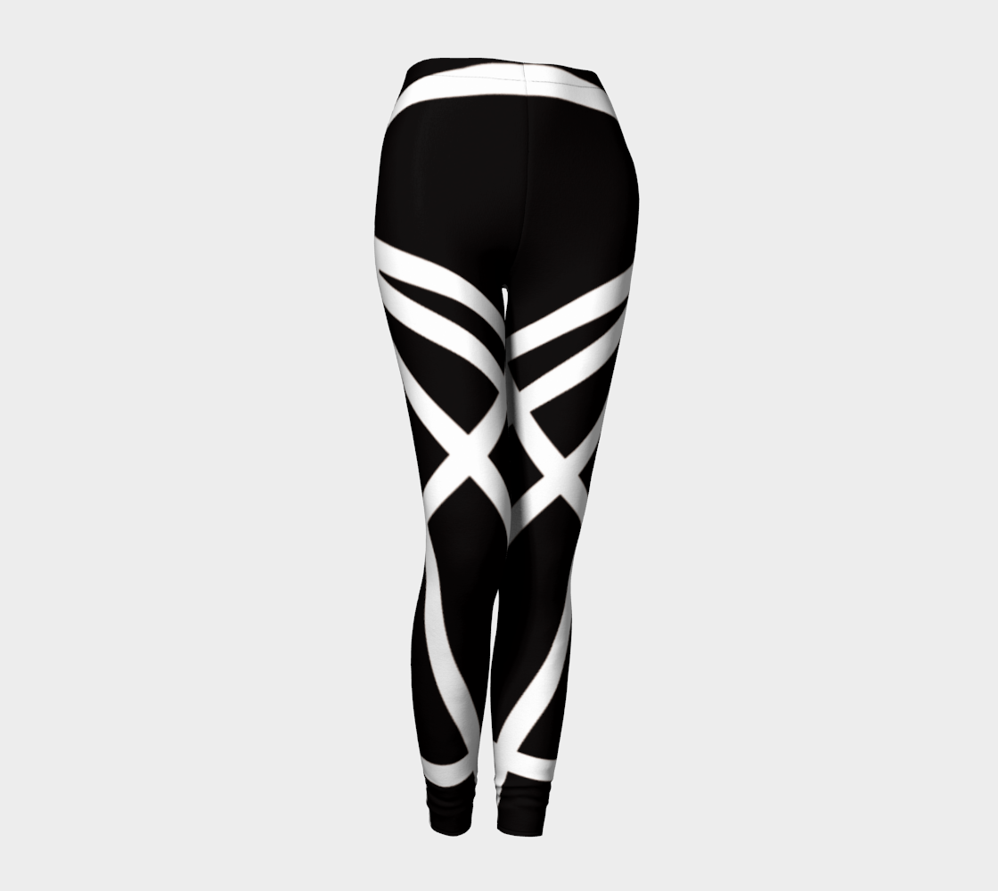 Logo Silhouette Leggings