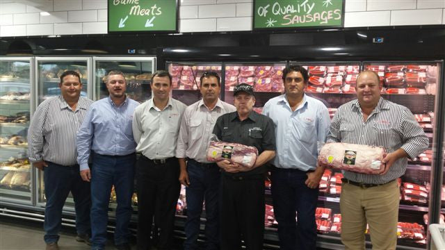 We impress! JBS Swift Plant Managers visit our Taringa store